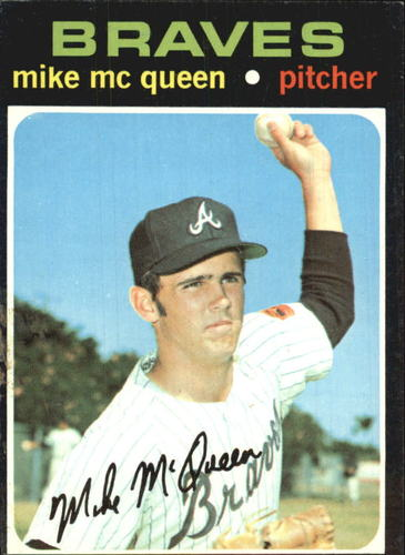 Photo of 1971 Topps #8 Mike McQueen