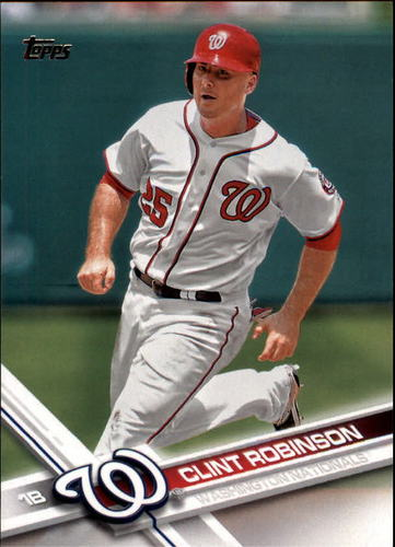 Photo of 2017 Topps #252 Clint Robinson