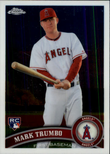 Photo of 2011 Topps Chrome #178 Mark Trumbo (RC)