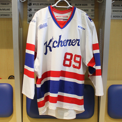 #89 Eric Guest 2016-17 Warm-up Jersey