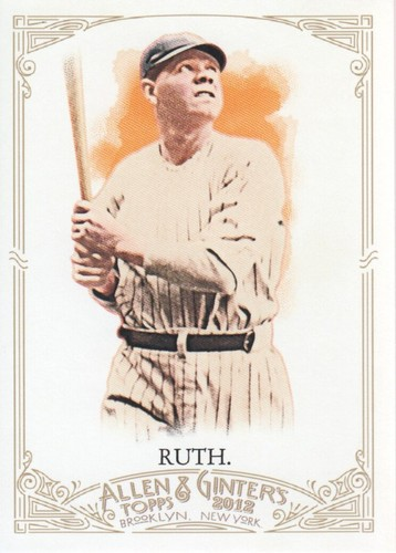 Photo of 2012 Topps Allen and Ginter #176 Babe Ruth