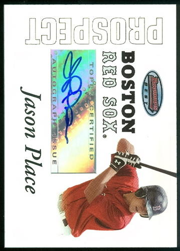 Photo of 2007 Bowman's Best Prospects #BBP47 Jason Place AU