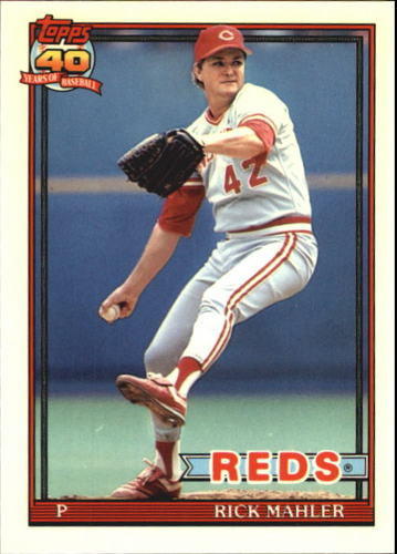 Photo of 1991 Topps Tiffany #363 Rick Mahler