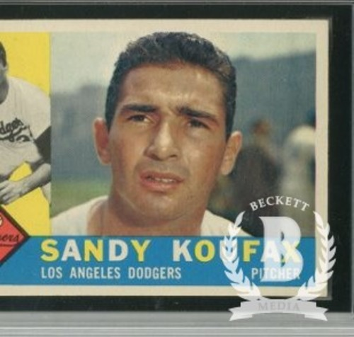 Photo of 1960 Topps #343 Sandy Koufax