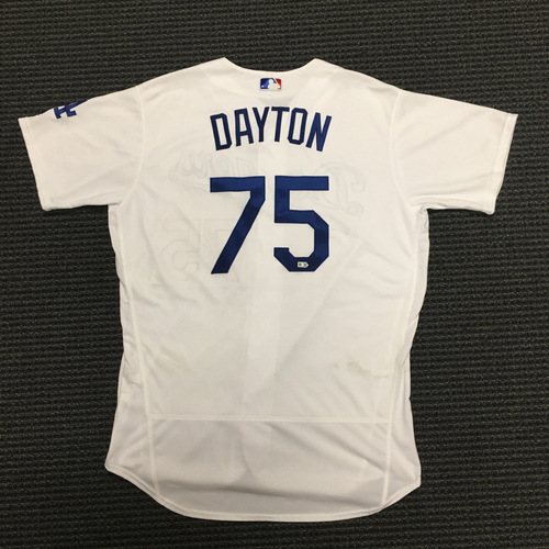 Photo of LA Dodgers Foundation Auction: Grant Dayton Game-Used LA Dodger Jersey