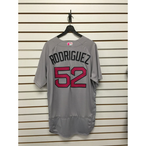 Photo of Eduardo Rodriguez Team Issued 2016 Mother's Day Road Jersey