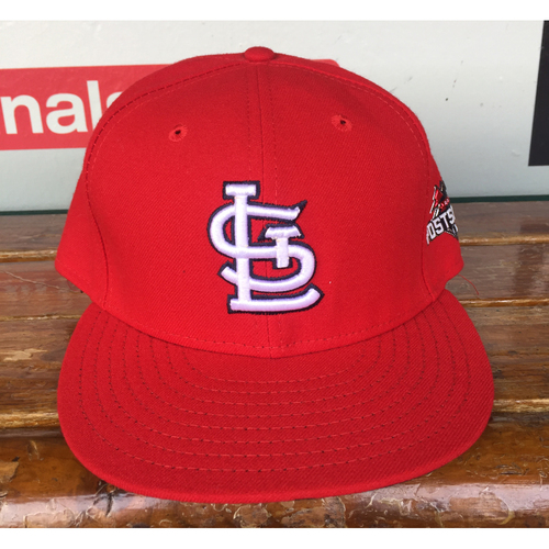 Photo of Cardinals Authentics: Ed Easley Home Red 2015 Postseason Cap