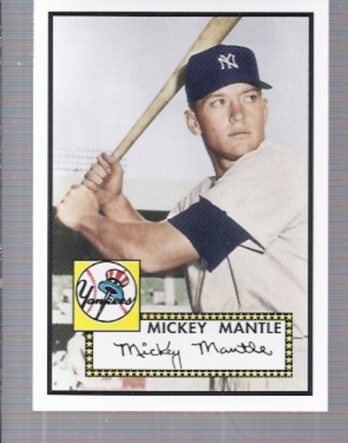 Photo of 2006 Topps Rookie of the Week #1 Mickey Mantle 52