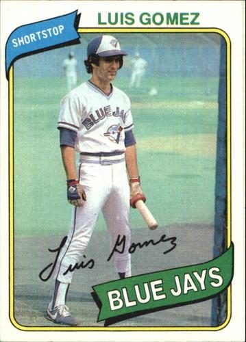 Photo of 1980 Topps #169 Luis Gomez