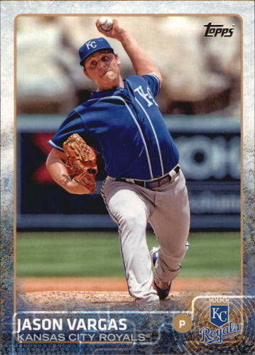Photo of 2015 Topps #179 Jason Vargas