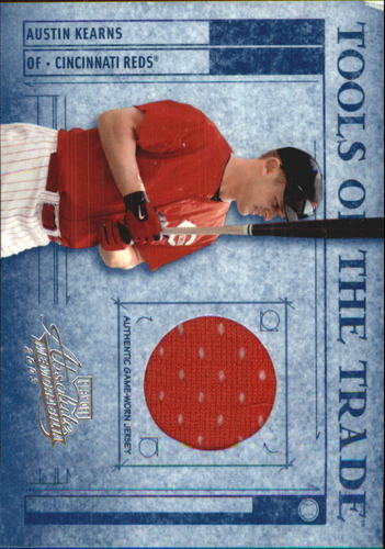 Photo of 2003 Absolute Memorabilia Tools of the Trade Materials #14 Austin Kearns Jsy/250