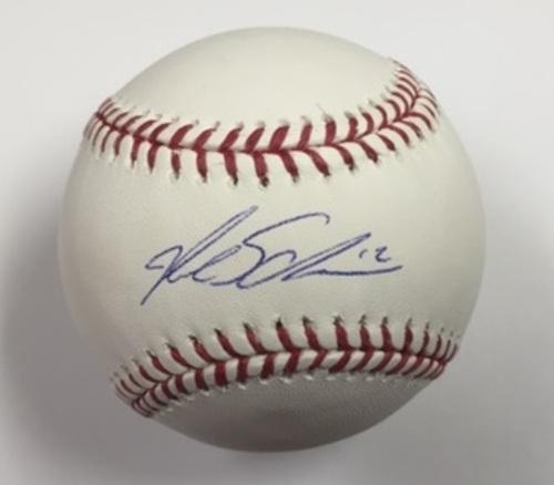 Kyle Schwarber Autographed Baseball