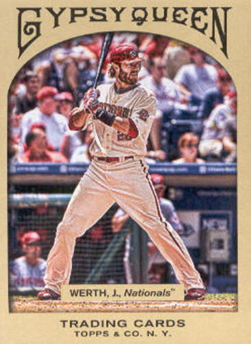 Photo of 2011 Topps Gypsy Queen #198 Jayson Werth