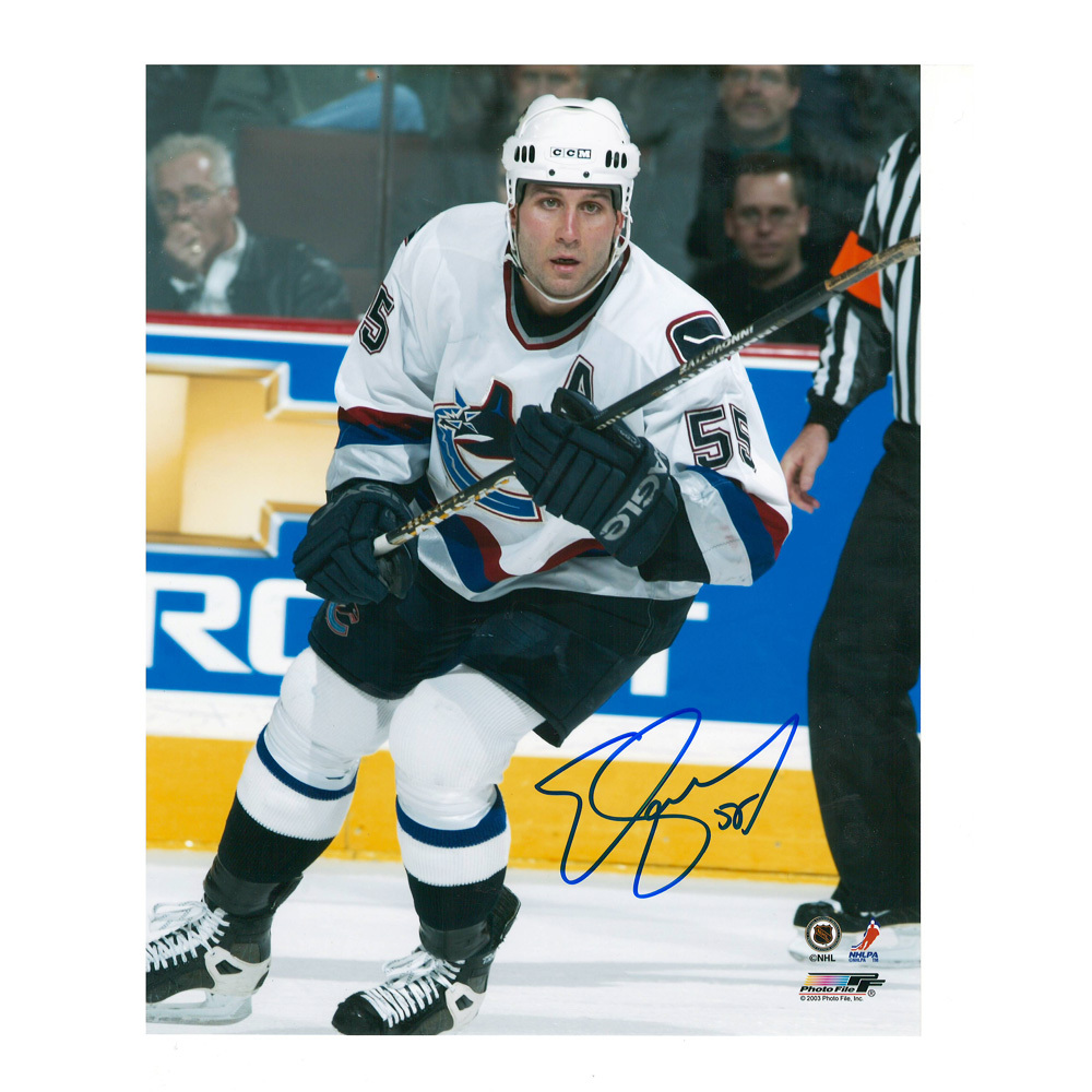 ED JOVANOVSKI Signed Vancouver Canucks 8 X 10 Photo - 70287
