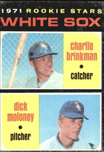 Photo of 1971 Topps #13 Rookie Stars/Charlie Brinkman RC/Dick Moloney RC