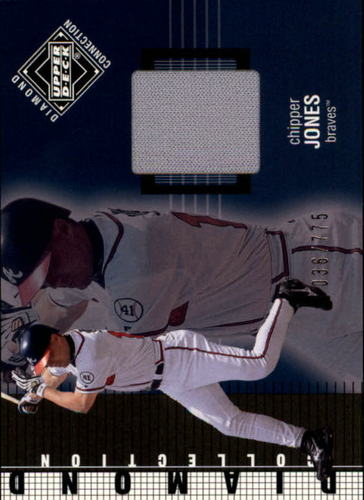 Photo of 2002 Upper Deck Diamond Connection #208 Chipper Jones DC Jsy