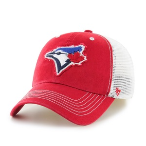 Toronto Blue Jays Taylor Flex Cap Red by '47 Brand