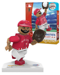 Toronto Blue Jays Jose Bautista Red Alt Jersey Toy Figurine by OYO Sports