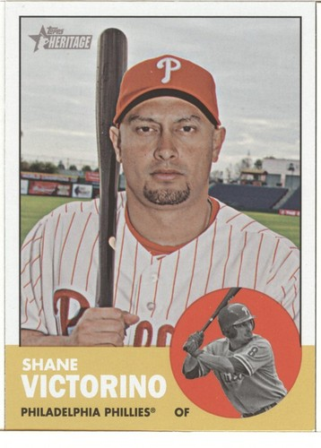 Photo of 2012 Topps Heritage #434 Shane Victorino SP