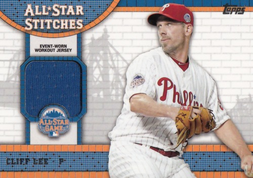 Photo of 2013 Topps Update All Star Stitches #CL Cliff Lee