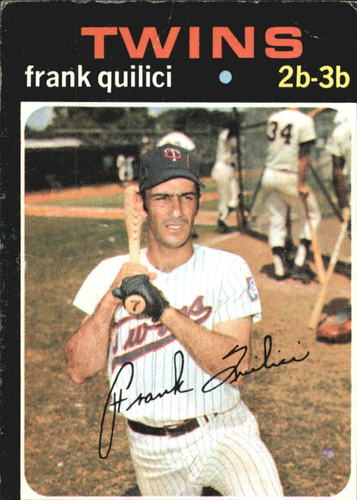 Photo of 1971 Topps #141 Frank Quilici