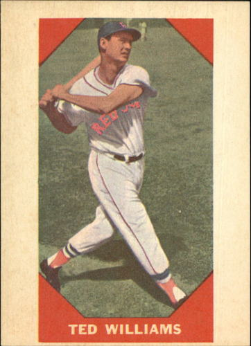Photo of 1960 Fleer #72 Ted Williams