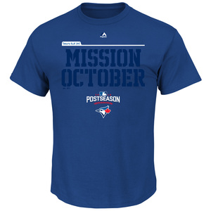 Men's Mission October T-Shirt by Majestic
