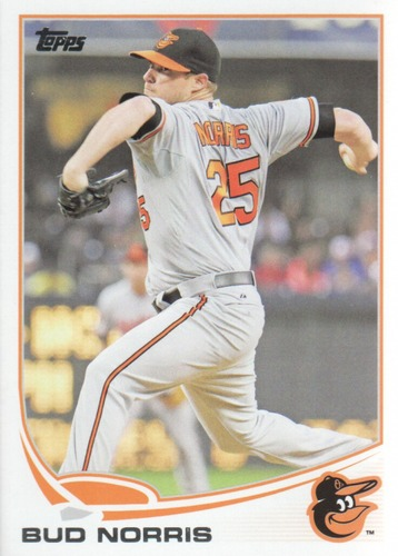 Photo of 2013 Topps Update #US275 Bud Norris