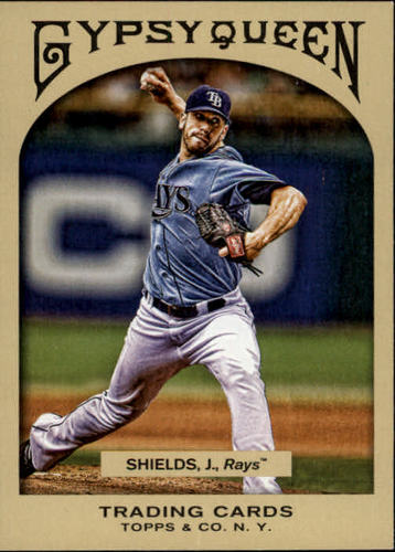 Photo of 2011 Topps Gypsy Queen #199 James Shields