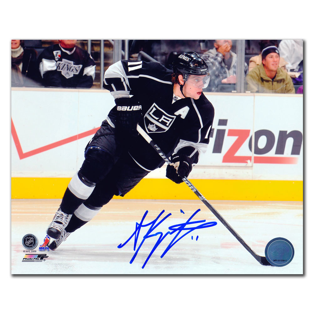 Anze Kopitar Los Angeles Kings BREAKOUT Autographed 8x10