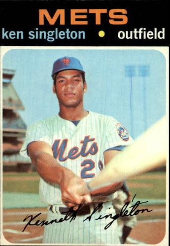Photo of 1971 Topps #16 Ken Singleton RC