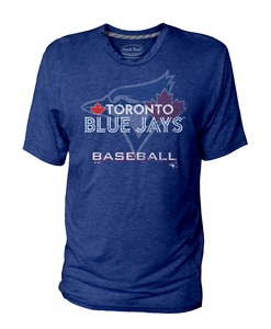 Toronto Blue Jays Logo T-shirt Royal by Majestic