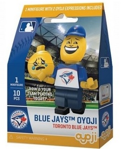 Toronto Blue Jays Oyoji Emoticon Toy Figurine by OYO Sports