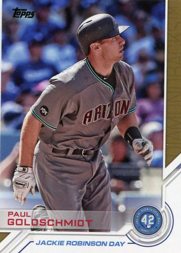 Photo of 2017 Topps Jackie Robinson Day #JRD30 Paul Goldschmidt
