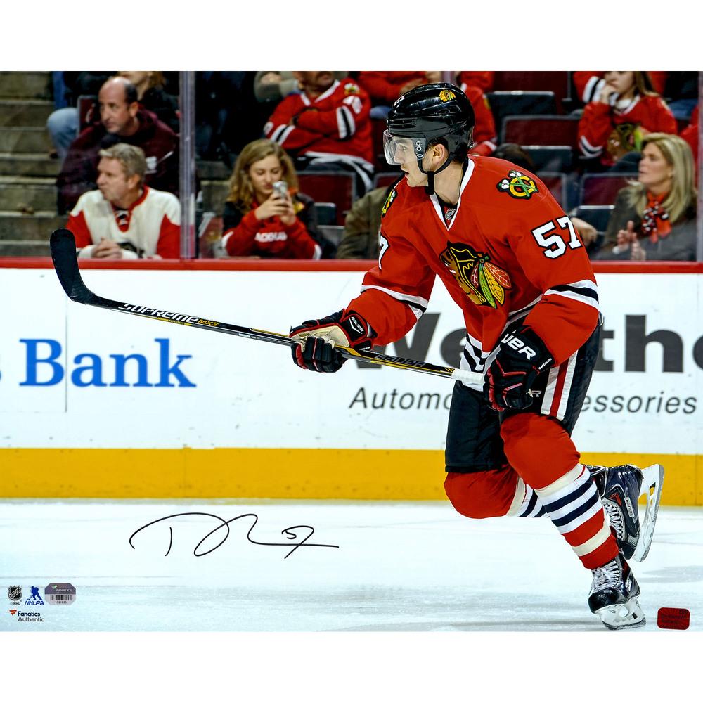 Trevor van Riemsdyk Chicago Blackhawks Autographed 16