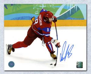Alexander Ovechkin Team Russia Autographed Olympic 8x10 Photo *Washington Capitals*