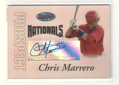 Photo of 2007 Bowman's Best Prospects #BBP54 Chris Marrero AU