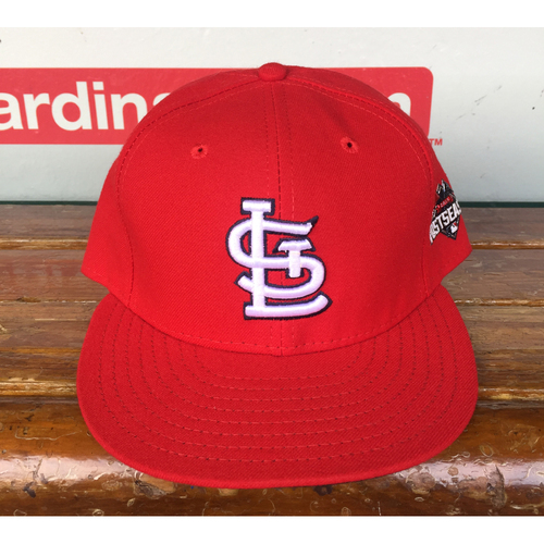 Photo of Cardinals Authentics: Jhonny Peralta Home Red 2015 Postseason Cap