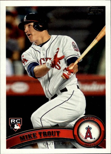 Photo of 2011 Topps Update #US175 Mike Trout RC