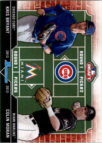 Photo of 2013 Bowman Draft Dual Draftee #BM Kris Bryant/Colin Moran