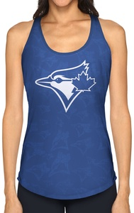 Women's Burnout Tank Royal by Hazel Mae