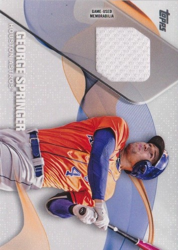 Photo of 2017 Topps Major League Materials #MLMGSP George Springer