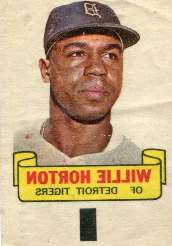 Photo of 1966 Topps Rub-Offs #41 Willie Horton