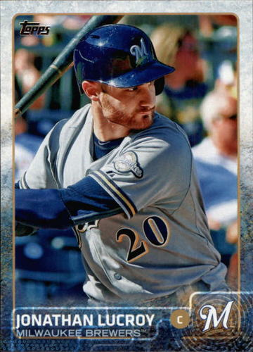 Photo of 2015 Topps #675 Jonathan Lucroy