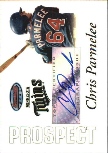 Photo of 2007 Bowman's Best Prospects #BBP56 Chris Parmelee AU