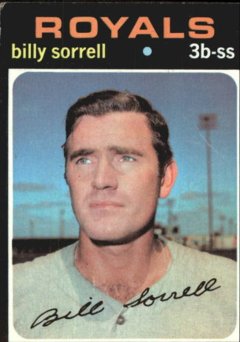 Photo of 1971 Topps #17 Billy Sorrell