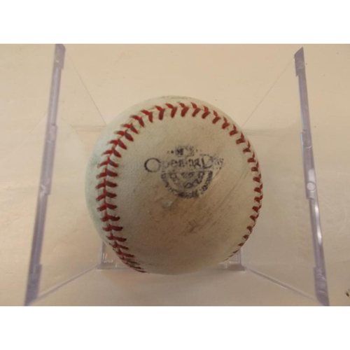 Photo of 2014 Opening Day Game Prepared Ball