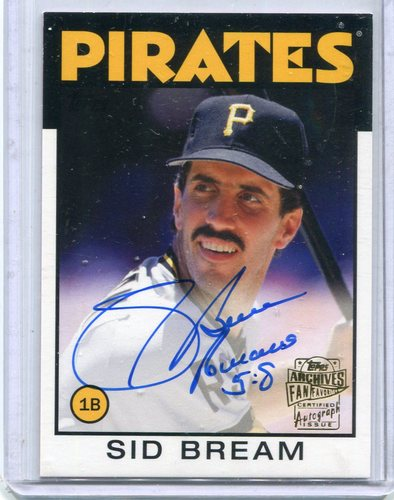 Photo of 2015 Topps Archives Fan Favorites Autographs  Sid Bream