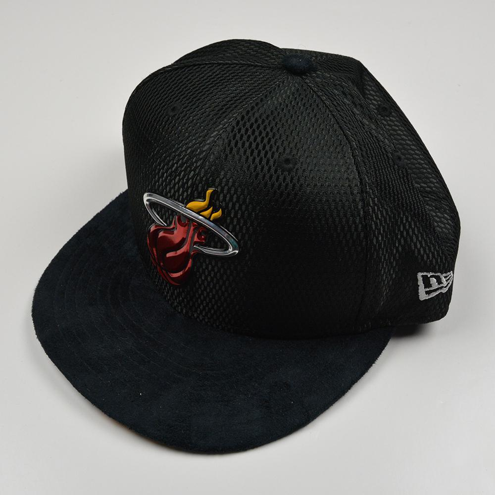 Bam Adebayo - Miami Heat - 2017 NBA Draft - Backstage Photo-Shoot Worn Hat