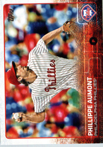 Photo of 2015 Topps Update #US318A Phillippe Aumont